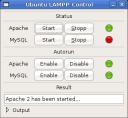 Ubuntu LAMPP Control 1.1 - 1