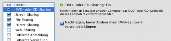 CD/DVD Sharing 2