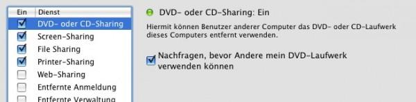 CD/DVD Sharing 2